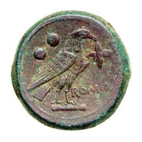 Revers Sextans Sec. III B.C.E.